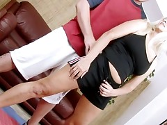 Horny aged lady widen legs to get deeply permeated
